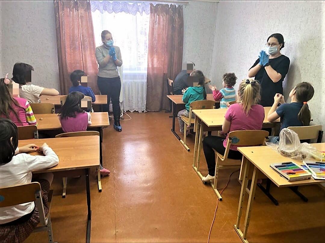 Волонтеры ТЕМПО в Орешек