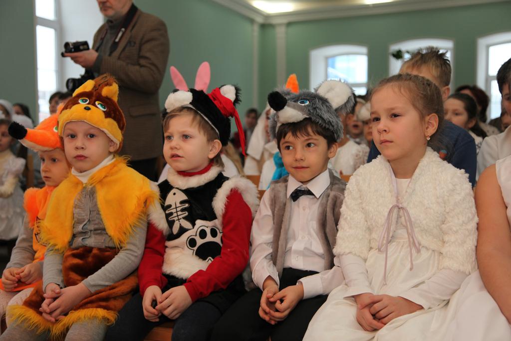 Воскресная школа Казанского мужского монастыря