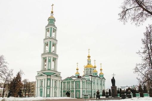 Сформировался архитектурный комплекс Спасо-Преображенского кафедрального собора