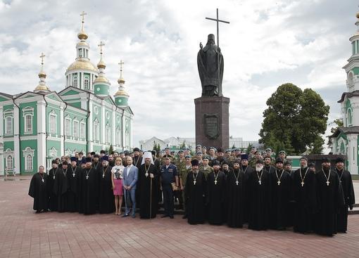 Сборы военного духовенства Тамбовской епархии.