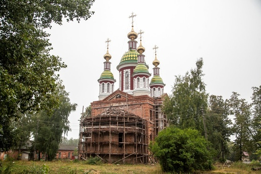 Продолжается возрождение Трегуляевского мужского монастыря