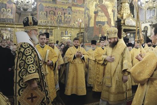 Разделение Тамбовской епархии и образование Тамбовской митрополии