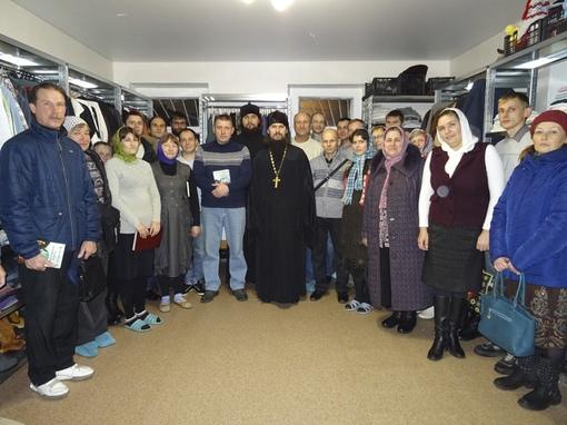 Открытие благотворительной трапезной для бездомных на базе епархиального центра гуманитарной помощи «Теплый кров»
