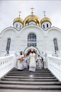 Освящение Свято-Троицкого собора г. Тамбова в 2010 году