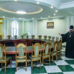 Глава митрополии встретился с руководителем Управления Федеральной службы судебных приставов по Тамбовской области Андреем Михайловичем Лузаном