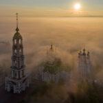 10 лет со дня установки креста на купол звонницы Казанского мужского монастыря!