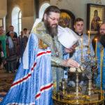 В канун праздника Казанской иконы Божией Матери митрополит Феодосий совершил всенощное бдение в Казанском мужском монастыре