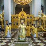 В день памяти святой равноапостольной Ольги митрополит Феодосий совершил Литургию в Вознесенском женском монастыре города Тамбова