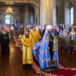 Митрополит Феодосий совершил Божественную литургию в Спасо-Преображенском кафедральном соборе города Тамбова