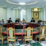 Ректор духовной семинарии митрополит Тамбовский и Рассказовский Феодосий возглавил работу Ученого совета