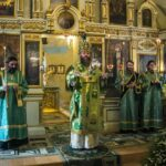 Митрополит Феодосий совершил всенощное бдение в Покровском соборе города Тамбова