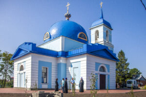 Богослужение в Ивановке