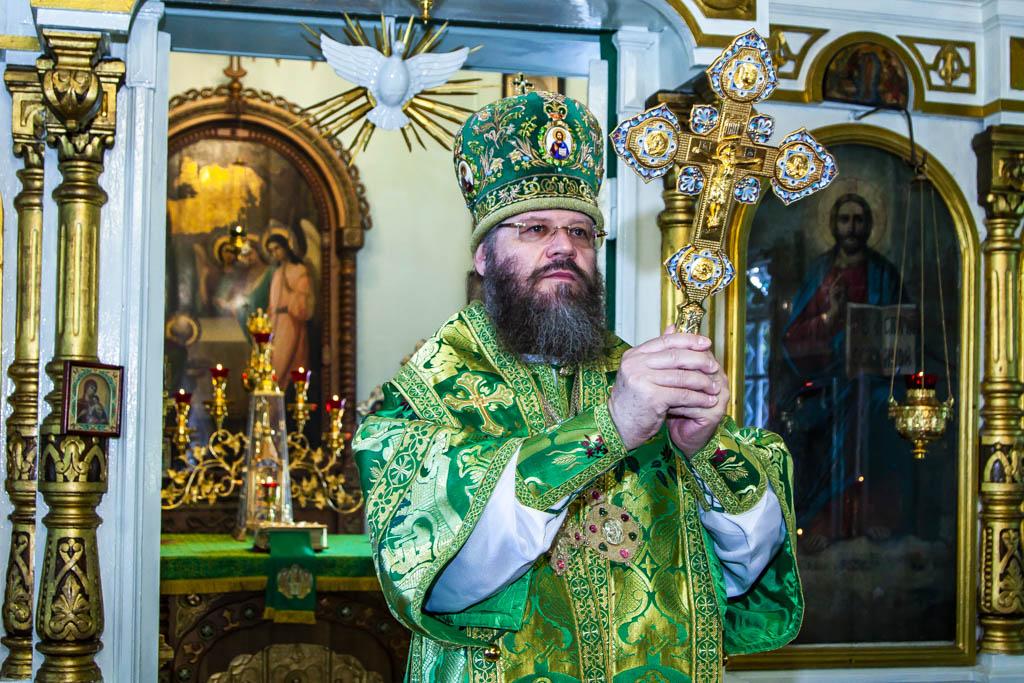 Архиерейское богослужение в Петро-Павловском храме города Тамбова