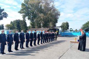 Молебен и освящение техники в воинской части