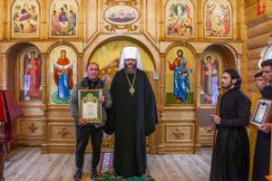 освящение храма в честь Казанской иконы Божией Матери в селе Княжево