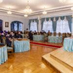 В Тамбовском епархиальном управлении состоялось совещание духовенства по вопросам обеспечения безопасности в связи с новой волной распространения коронавирусной инфекции