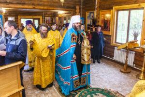 освящение храма в честь Рождества Пресвятой Богородицы в селе Коптево